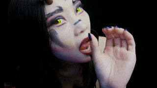 ManyVids Asiandreamx  Demon dom JOI Mouth and FEET:CEI  Siterip Clip XXX