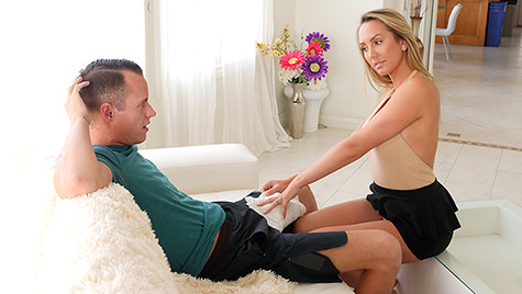 Spyfam SpyFam presents Horny Stepmom Massages Stepson's Huge Cock featuring Brett Rossi posted February 26, 2018  Video 720p x264 mp4
