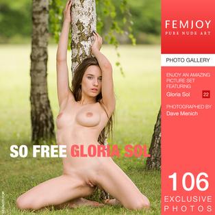 FEMJOY So Free feat Gloria Sol release March 16, 2018  [IMAGESET 4000pix Siterip NUDEART]