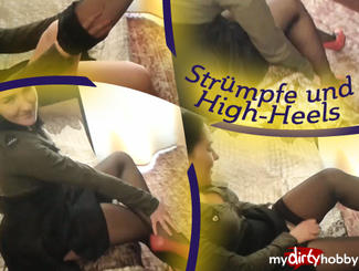 MydirtyHobby Stockings and high heels.. (No sound) SexyJody  Video  GERMAN  H264 AAC  720p