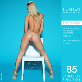 FEMJOY Flawless feat Hella G. release March 29, 2018  [IMAGESET 4000pix Siterip NUDEART]