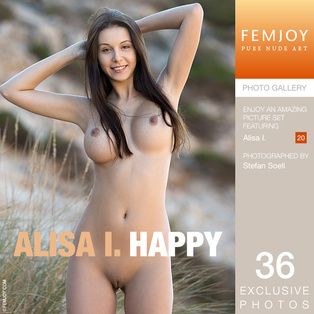 FEMJOY Happy feat Alisa I. release March 17, 2018  [IMAGESET 4000pix Siterip NUDEART]