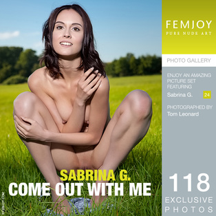 FEMJOY Come Out With Me feat Sabrina G. release March 12, 2018  [IMAGESET 4000pix Siterip NUDEART]