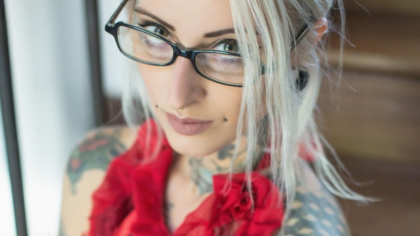 Suicide Girls Set of the day with gladyce  Siterip