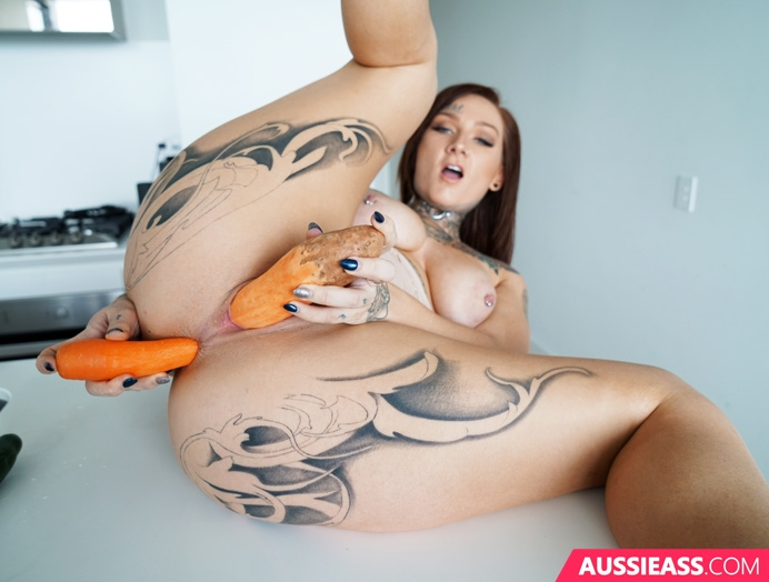 Aussie Ass 423 Eating your vegetables  Siterip Video 720p  mp4