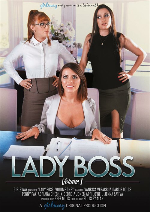 Lady Boss Vol. 1 Girlsway  [DVD.RIP. H.264 2017]