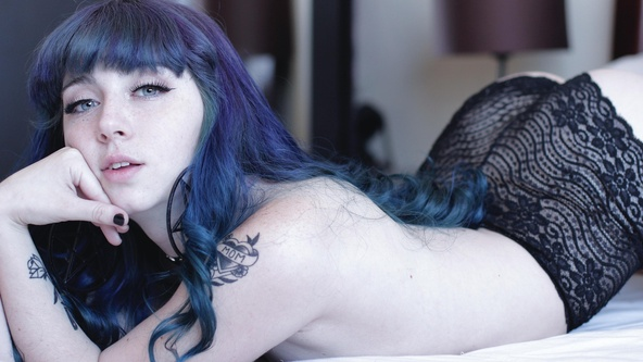 Suicide Girls Hopeful Set with azulcielo  Siterip