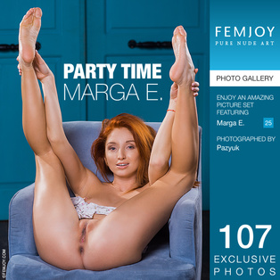 FEMJOY Party Time feat Marga E. release April 20, 2018  [IMAGESET 4000pix Siterip NUDEART]
