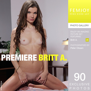 FEMJOY Premiere feat Britt A. release April 30, 2018  [IMAGESET 4000pix Siterip NUDEART]