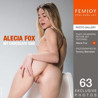 FEMJOY My Chocolate Side feat Alecia Fox release April 11, 2018  [IMAGESET 4000pix Siterip NUDEART]
