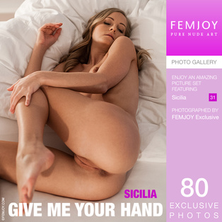 FEMJOY Give Me Your Hand feat Sicilia release April 13, 2018  [IMAGESET 4000pix Siterip NUDEART]