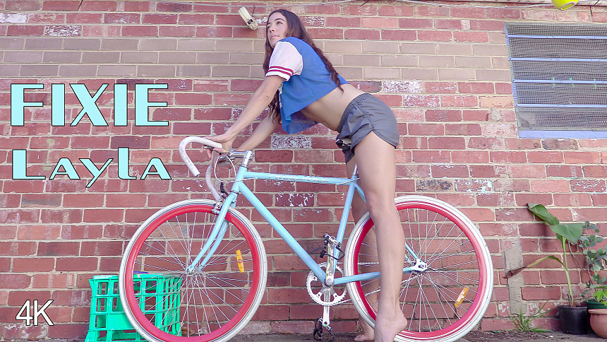 GirlsoutWest Layla – Fixie  Video  Siterip 720p mp4 HD