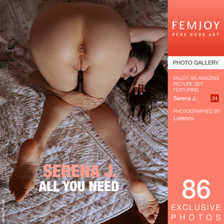 FEMJOY All You Need feat Serena J. release April 4, 2018  [IMAGESET 4000pix Siterip NUDEART]