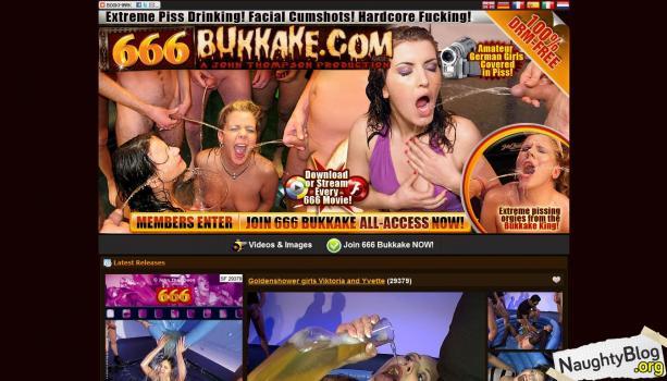 666Bukkake.com – SITERIP   SITERIP Video 720p Multimirror