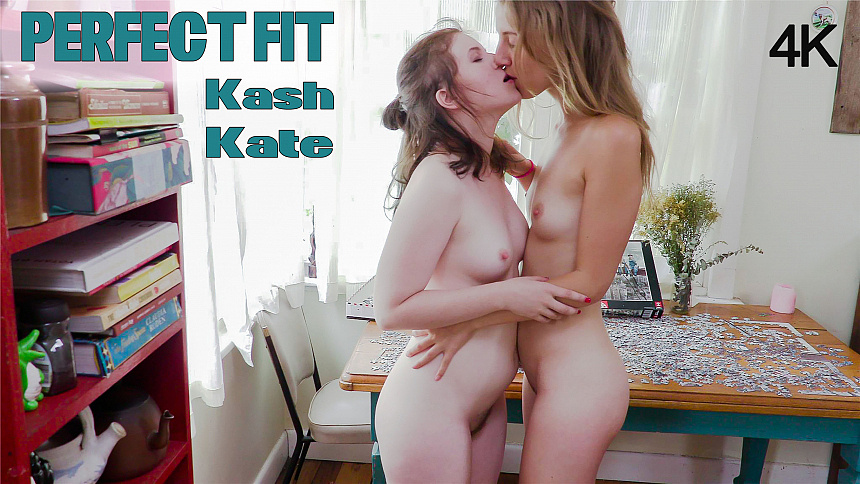 GirlsoutWest Kash & Kate - Perfect Fit  Video  Siterip 720p mp4 HD Siterip RIP