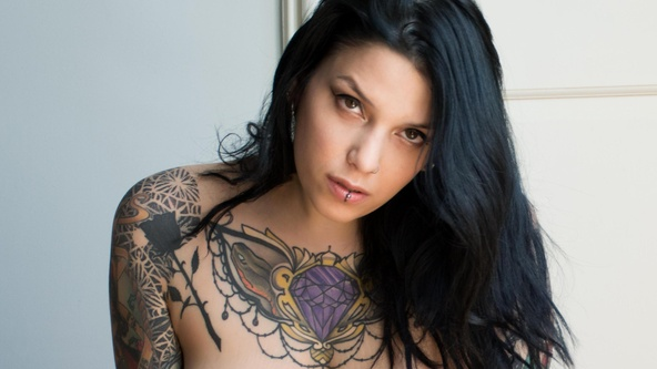 Suicide Girls Set of the day with valkyria  Siterip