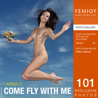 FEMJOY Come Fly With Me feat Arina F. release May 9, 2018  [IMAGESET 4000pix Siterip NUDEART]