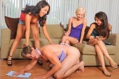 Girlsabuseguys Allie Jordan in A Woman's Place  [BDSM Videoclip Siterip wmv]