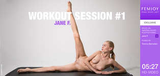 FEMJOY Workout Session #1 feat Jane F. release May 26, 2018  [IMAGESET 4000pix Siterip NUDEART]