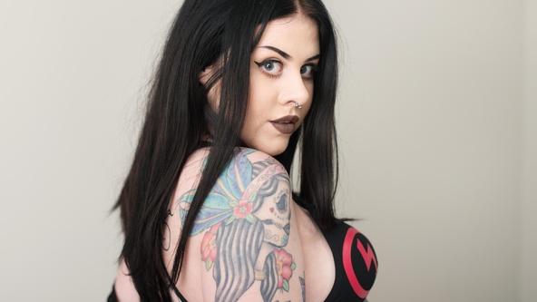 Suicide Girls Hopeful Set with leacheyenne  Siterip
