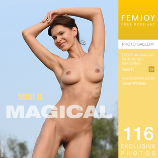 FEMJOY Magical feat Susi R. release May 25, 2018  [IMAGESET 4000pix Siterip NUDEART]