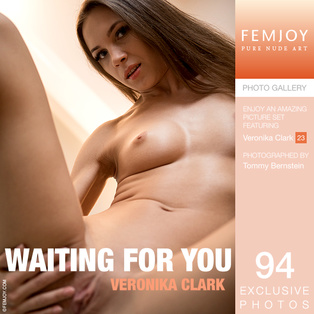 FEMJOY Waiting For You feat Veronika Clark release May 15, 2018  [IMAGESET 4000pix Siterip NUDEART]