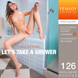 FEMJOY Let's Take A Shower feat Luna Moonie release May 16, 2018  [IMAGESET 4000pix Siterip NUDEART] Siterip RIP