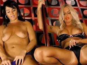 Pantiespulleddown Charlene shows Raven 'how to ride the pole'  SITERIP VIDEO+FOTO FULL SET wmv