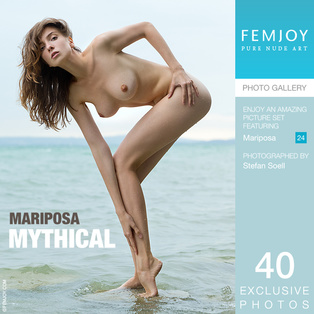 FEMJOY Mythical feat Mariposa release May 5, 2018  [IMAGESET 4000pix Siterip NUDEART]