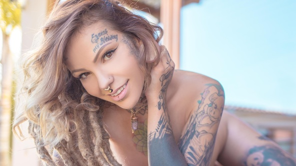 Suicide Girls Set of the day with paulam  Siterip