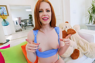 Don't Break Me Ella Hughes – Petite Redhead Takes a Big Dick  [MOFOS NETWORK SITERIP 1080p mp4]