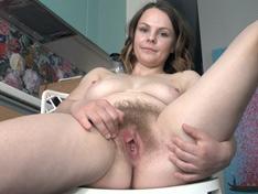 WeareHairy.com Zamina strips naked as enjoys herself today  Video 1089p Hairy Closeup Siterip RIP
