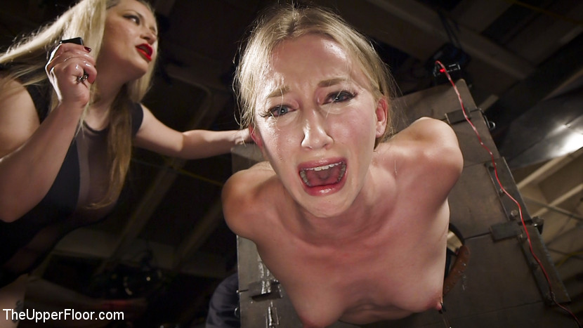Kink.com theupperfloor Drooling Electro Slut & The Anal Whore Serve a BDSM Orgy  WEBL-DL 1080p mp4