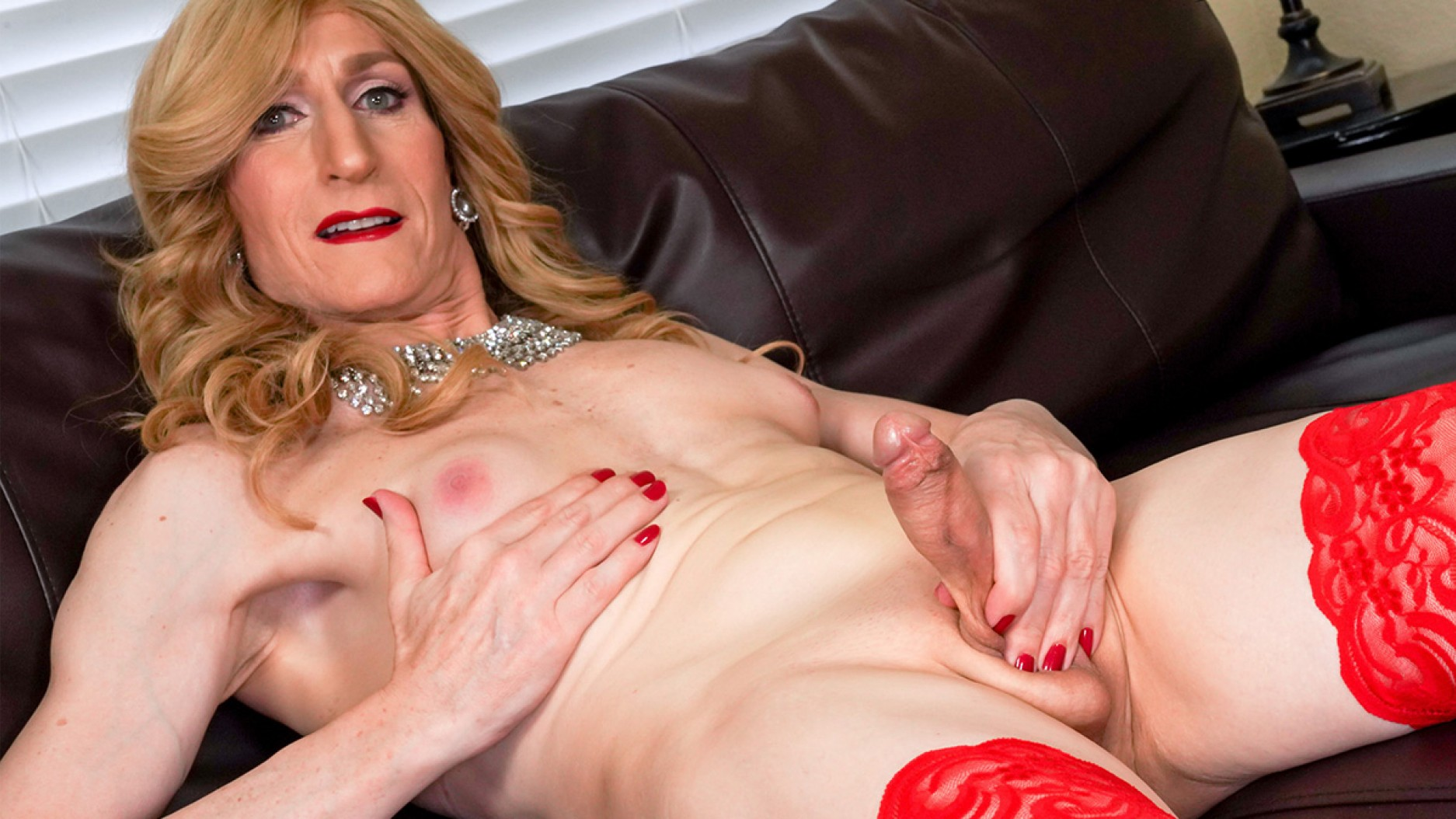 TGirl40 Behold The Stunning Kacy TGirl!  Shemale XXX WEB-DL Groobynetwork