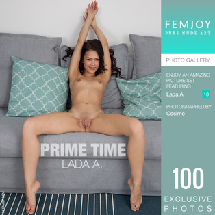 FEMJOY Prime Time feat Lada A. release July 12, 2018  [IMAGESET 4000pix Siterip NUDEART] Siterip RIP