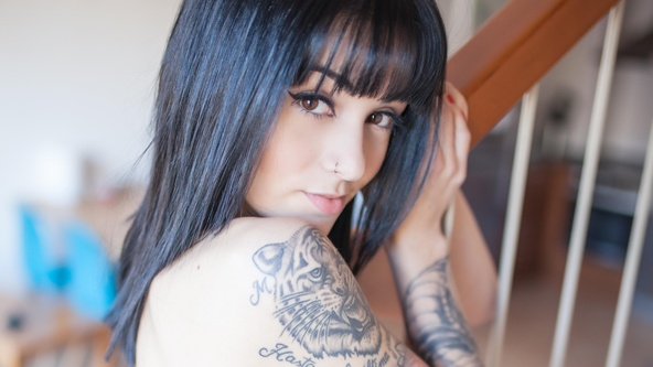 Suicide Girls Set of the day with zahir  Siterip