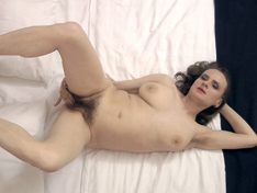WeareHairy.com Pique Dame comes into her bedroom to play  Video 1089p Hairy Closeup