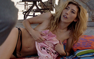 MrSkin Dichen Lachman Slips Nip in Animal Kingdom  WEB-DL Videoclip