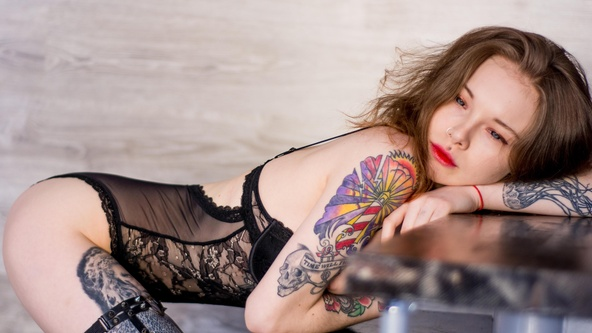 Suicide Girls Hopeful Set with karnelia  Siterip Siterip RIP