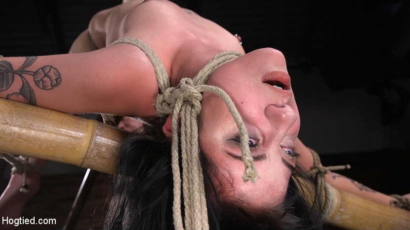 Kink.com hogtied Submissive Goth Girl is Bound, Tormented, and Made to Cum  WEBL-DL 1080p mp4