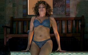 MrSkin Jennifer Lopez Goes For a Dip in Her Underwear in Shades of Blue  Siterip Videoclip