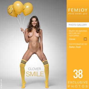 FEMJOY Smile feat Clover release July 7, 2018  [IMAGESET 4000pix Siterip NUDEART]