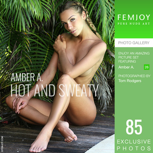 FEMJOY Hot And Sweaty feat Amber A. release July 20, 2018  [IMAGESET 4000pix Siterip NUDEART]