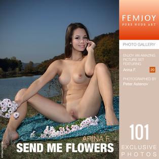 FEMJOY Send Me Flowers feat Arina F. release July 27, 2018  [IMAGESET 4000pix Siterip NUDEART]
