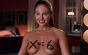 """MrSkin Jesse Capelli Gives a """"Hard"""" Math Lesson in National Lampoon's Van Wilder  Siterip Videoclip"""