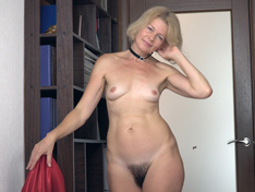 WeareHairy.com Diana Douglas strips and masturbates in a hallway  Video 1089p Hairy Closeup