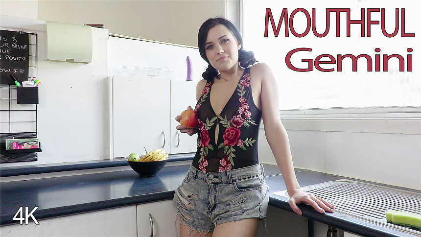 GirlsoutWest Gemini – Mouthful  Video  Siterip 720p mp4 HD