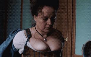 MrSkin Samantha Morton's Massive Cleavage in in Harlots  Siterip Videoclip