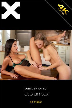 X-ART Dolled Up For Hot Lesbian Sex  [HD SITERIP]