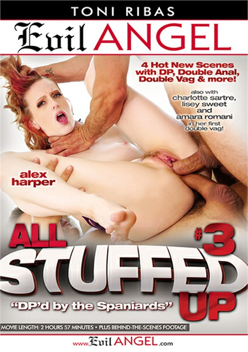 All Stuffed Up #3 Evil Angel  [DVD.RIP. H.264 Production Year 2014]